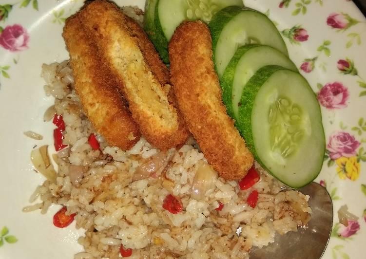 Resep Nasi goreng kampung anak kos Terenak