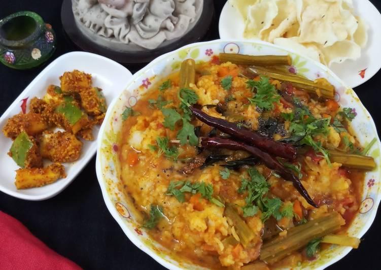 Recipe of Perfect Sambhar Sadam south indian sambhar rice