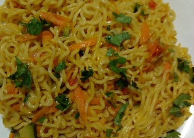 Spicy vegetable noodles