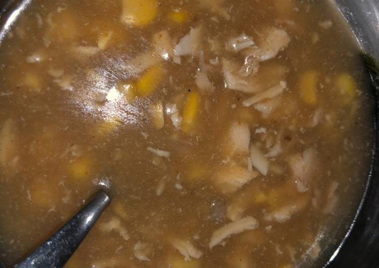 Recipe of Favorite Corn soup