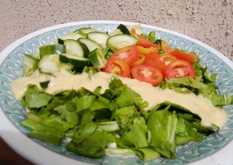 Simple Way to Make Perfect Salad