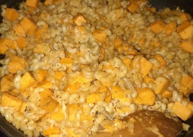Risotto de coquillettes à la patate douce