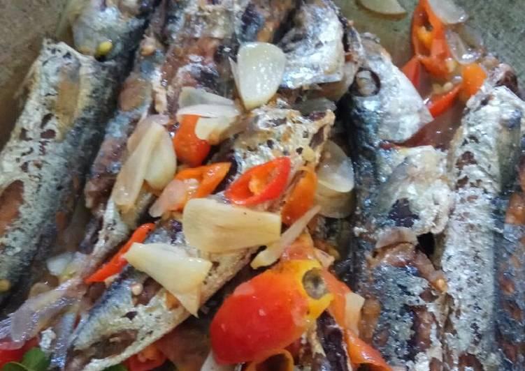 Ikan lajang pedas asam manis simple