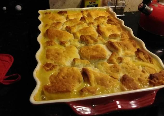 Simple Way to Make Speedy Easy chicken pot pie