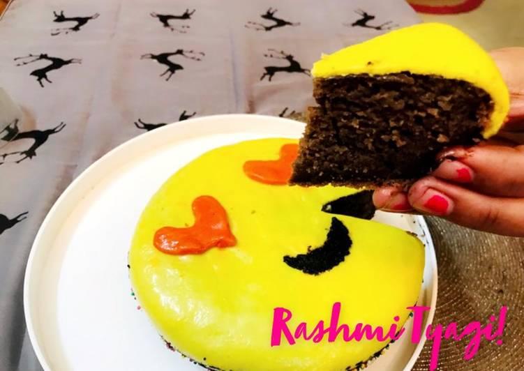 Chocolate Milk Cake 🎂 Emoji 😍Style