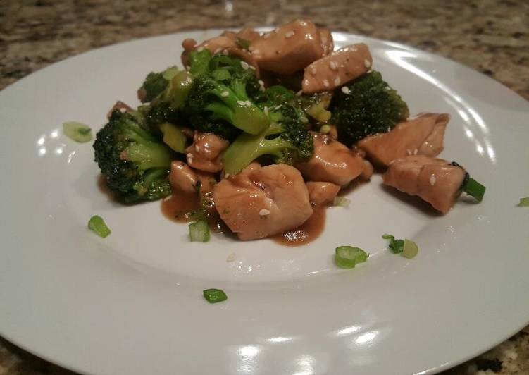 13 minute chicken and broccoli