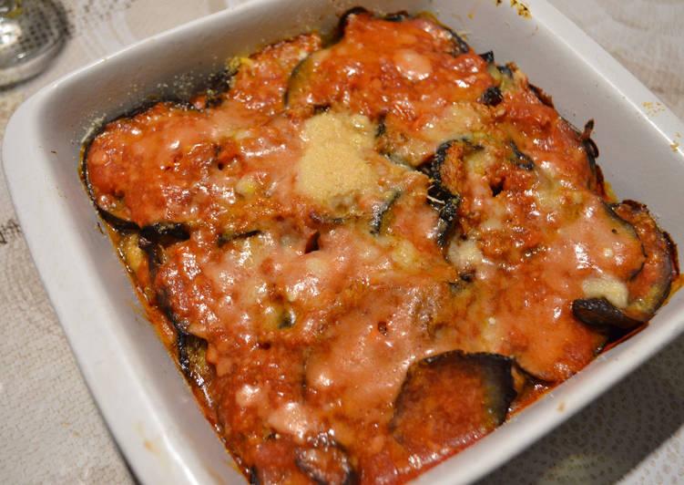 Aubergines à l'italienne (recette végétarienne)