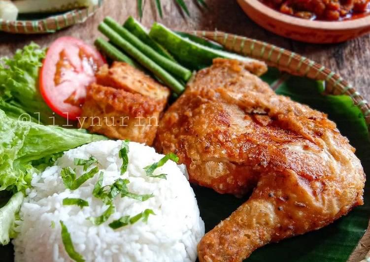 Nasi ayam penyet - velavinkabakery.com