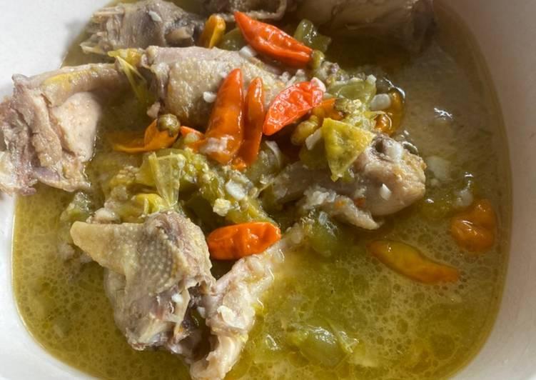 Garang Asem Ayam Pedas