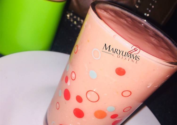 MIX FRUITS SMOOTHIE by Maryumms_cuisine🌸