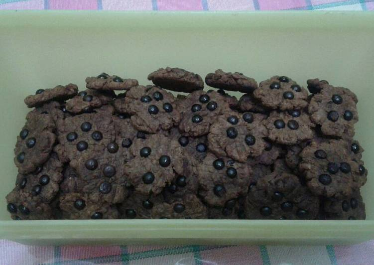 Resep Cookies choco chip teflon Anti Gagal