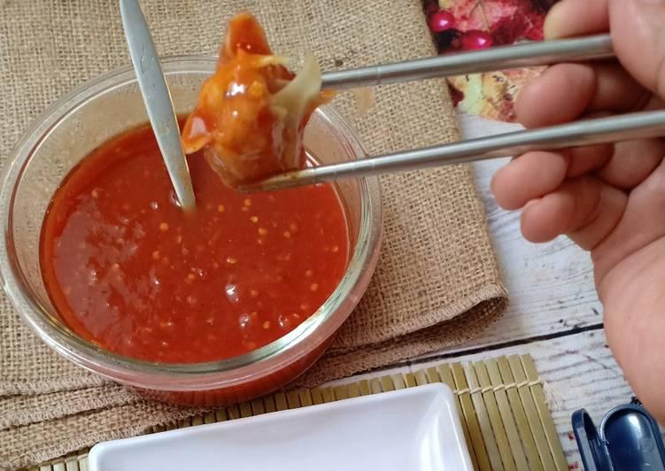 Resep Sambal Siomai. Sambal Cocolan Seafood yang Enak Banget
