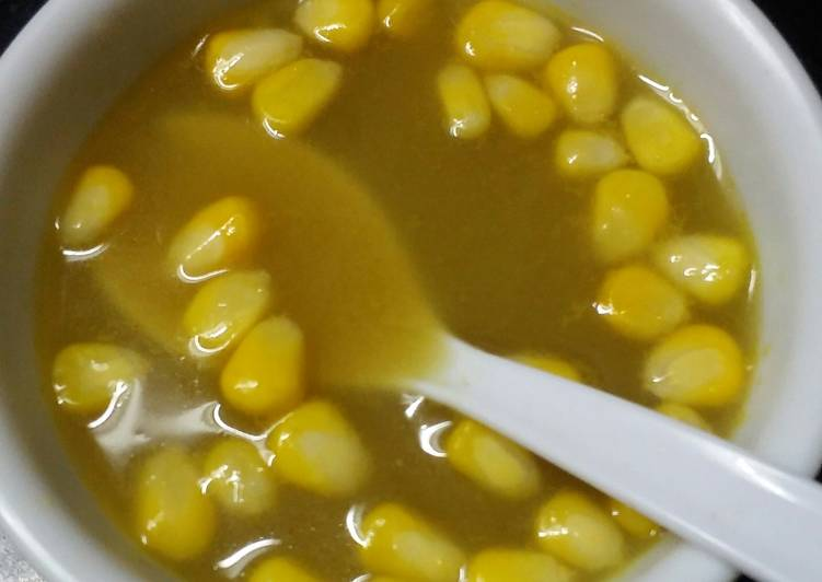 Recipe of Any-night-of-the-week Sweet corn soup