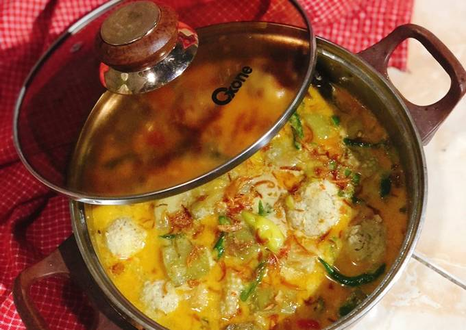lodeh terong rempah daging wonogiri - resepenakbgt.com