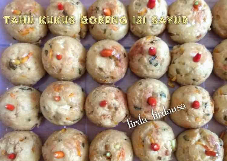 Bagaimana Membuat Tahu kukus goreng isi sayur Anti Gagal