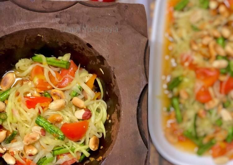 Salad Betik Thailand (Som Tam)