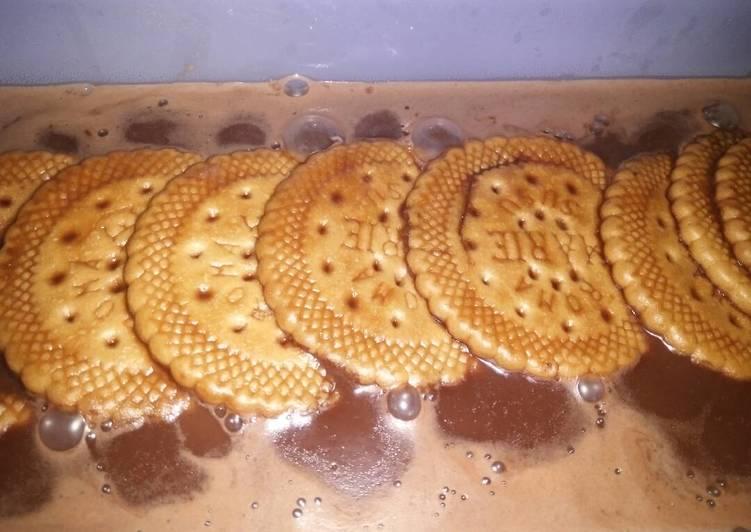 Pudding CotiMarisu (coklat roti Mari susu)