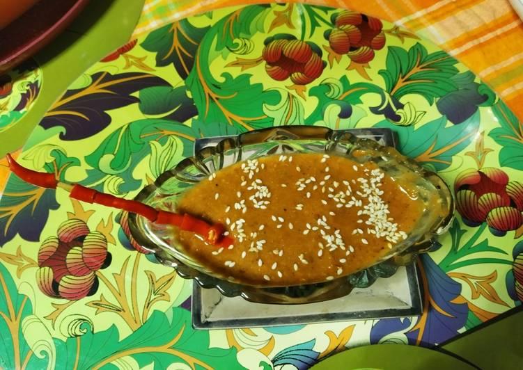 Recipe of Favorite Hot and chilli dip