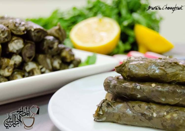 Recipe of Favorite Stuffed_Swiss_chard_leaves #Mehshi_selek