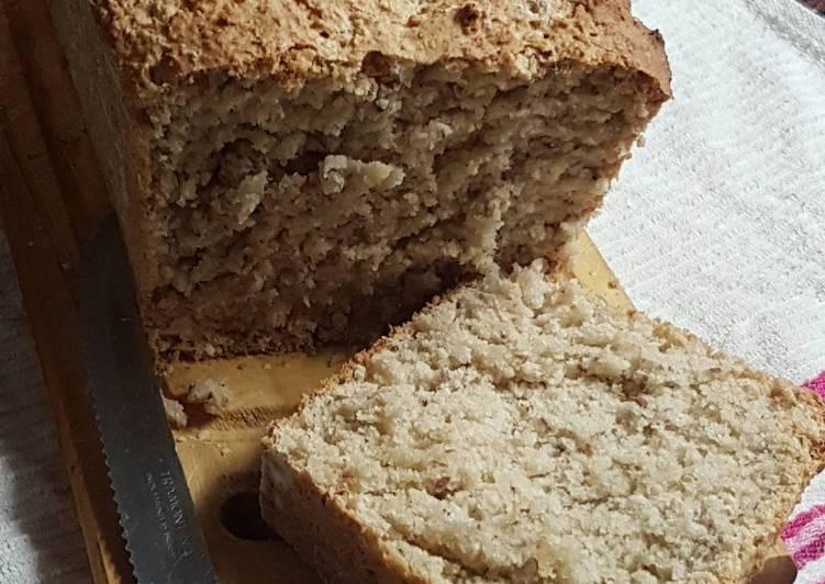Pan de salvado de avena y harina integral