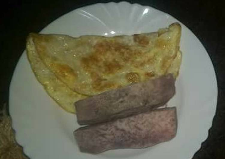 Omelette with Arrow roots