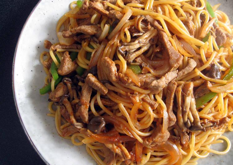 Fiery Beef Bulgogi Spaghetti