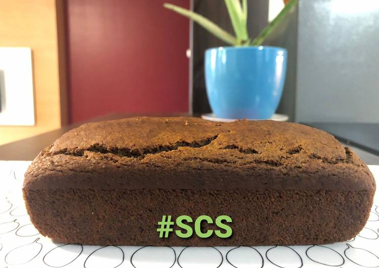 Ragi banana bread eggless no sugar recipe