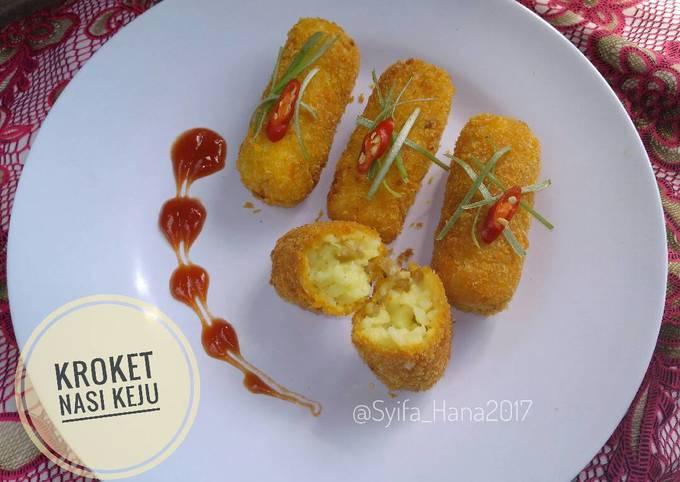 Resep Kroket Nasi Keju Oleh Mama Syifa Hana Cookpad