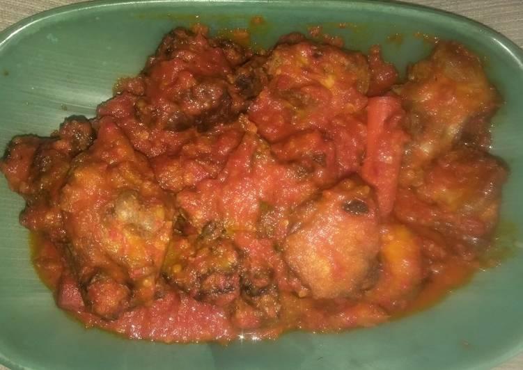 Resep Ayam bumbu merah , Menggugah Selera