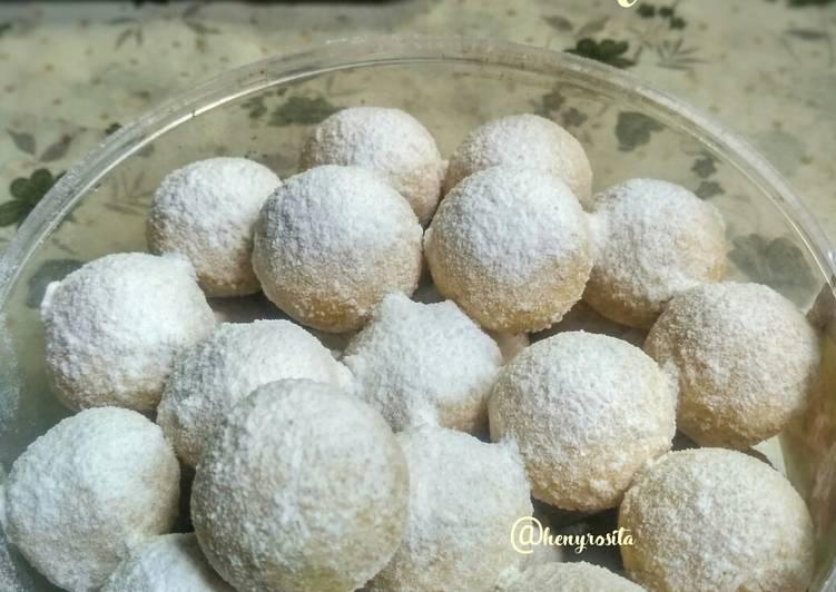 Putri Salju Kelapa / Coconut Snow Ball