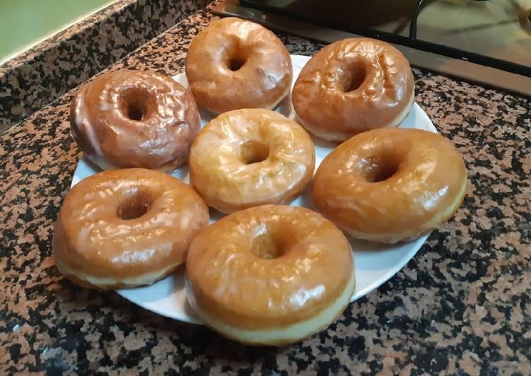 Donuts caseros con truco para que sagan más esponjosos