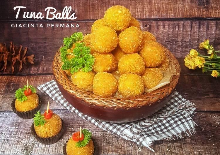 Bola bola ikan tuna (Tuna Balls)