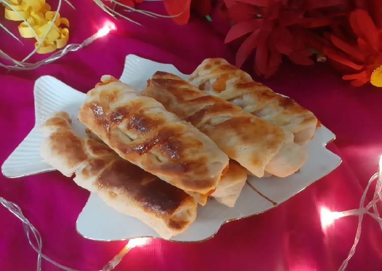Easiest Way to Make Ultimate Chicken bread rolls