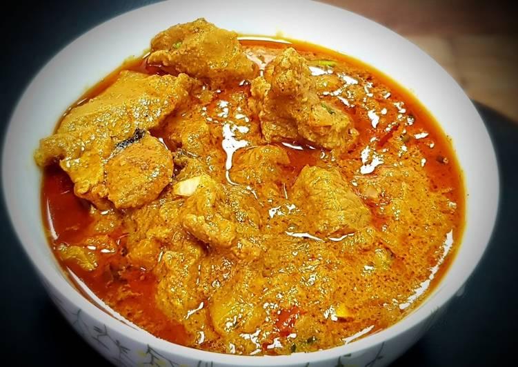 Recipe of Homemade Dahi Lamb Curry (Yogurt Lamb Curry)