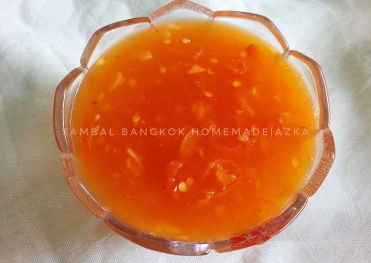 Saus Sambal Bangkok homemade