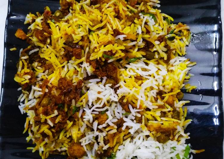 Recipe of Homemade Vegetable Dum Biryani