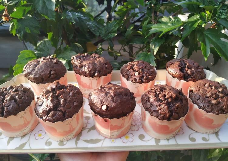 Choco Muffin, no mixer