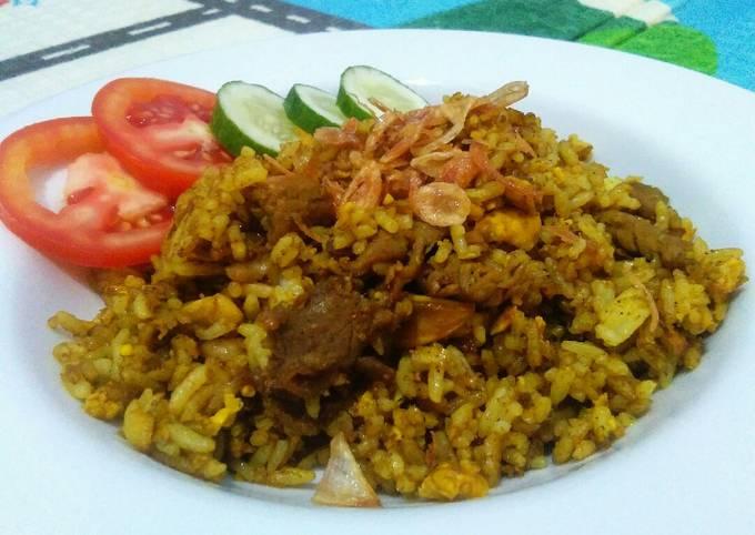 Nasi goreng beef kebuli - projectfootsteps.org