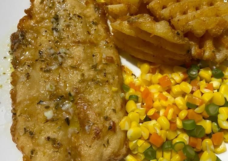 Lemon butter sauce - steak