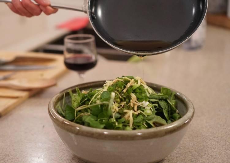 Chicken and Watercress Sesame Salad