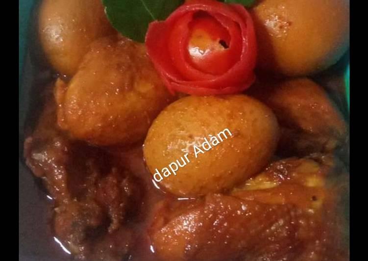Semur ayam telur🍗🥚🤤🤤