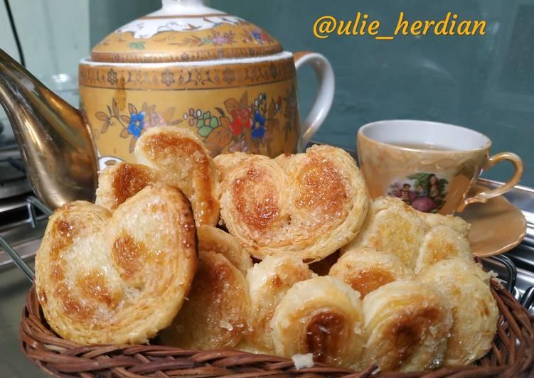 Resep Palmier cookies (genji pie ala ala) 3 bahan saja Terbaik