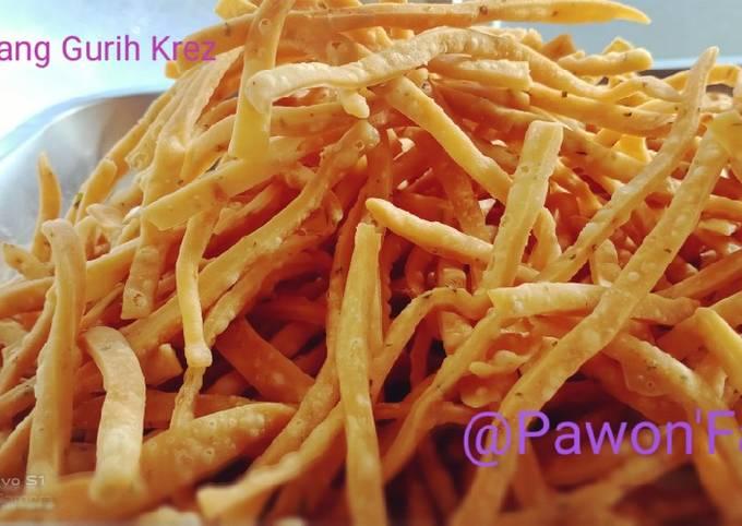 Stick Bawang Gurih Krez (No Egg)