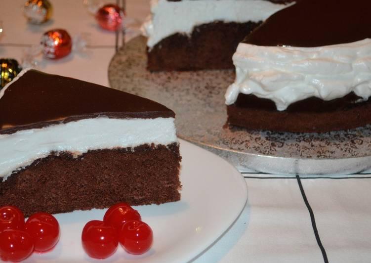 рецепт торта улыбка негра с безе