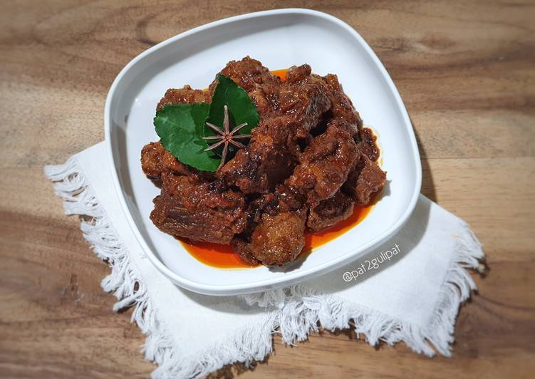 Rendang Bamboe Instant