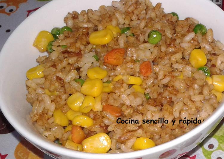 Arroz Al Pimentón Receta De Cocina Sencilla Y Rápida Cookpad