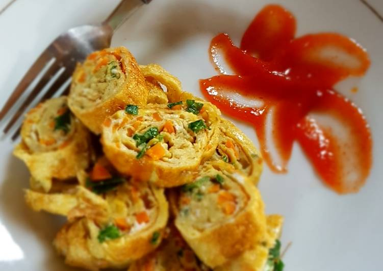 Egg roll vegetable