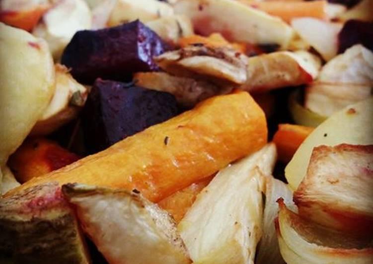 recette Légumes rôtis délicieux