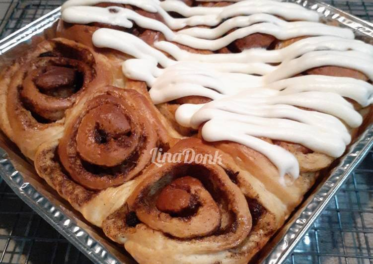 Resep Cinnamon Roll Cheese Cream Paling dicari