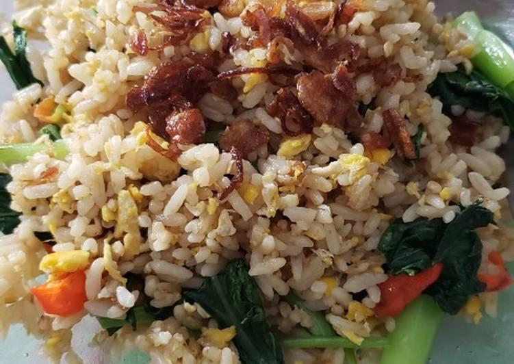 Resep Nasi goreng Hongkong Menggugah Selera